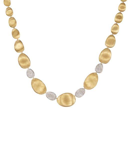 Marco Bicego - Metallic Lunaria Diamond & 18k Yellow Gold Four-station Collar Necklace - Lyst