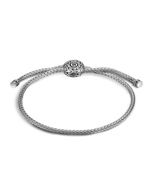 John Hardy - Metallic Classic Chain Silver Knot Bracelet - Lyst