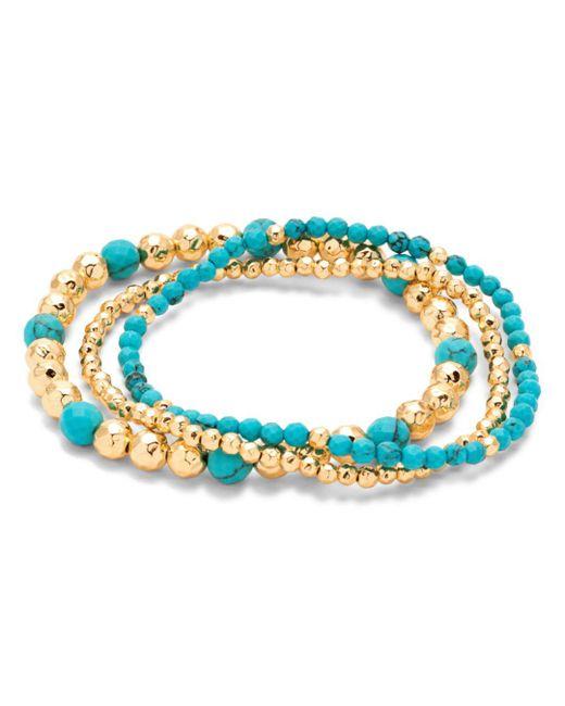 Gorjana - Blue Gypset Beaded Stretch Bracelets - Lyst