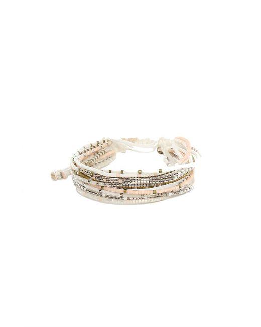 Chan Luu - White Seed Mix Bead Bracelet - Lyst