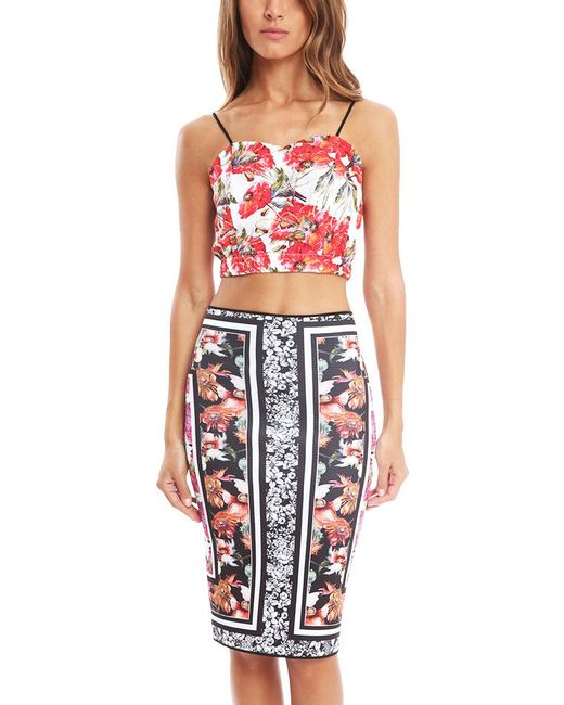 Clover Canyon - Multicolor Frederick Print Crop Top - Lyst