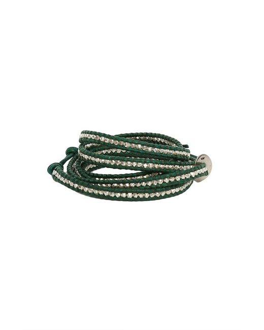 Chan Luu - Green Leather Wrap Bracelet - Lyst