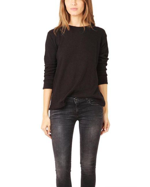 ATM - Black Atm Thermal Stitch Sweater - Lyst
