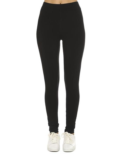 Majestic Filatures - Black French Terry Legging - Lyst