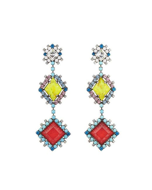 DANNIJO - Metallic Esposa Earrings - Lyst