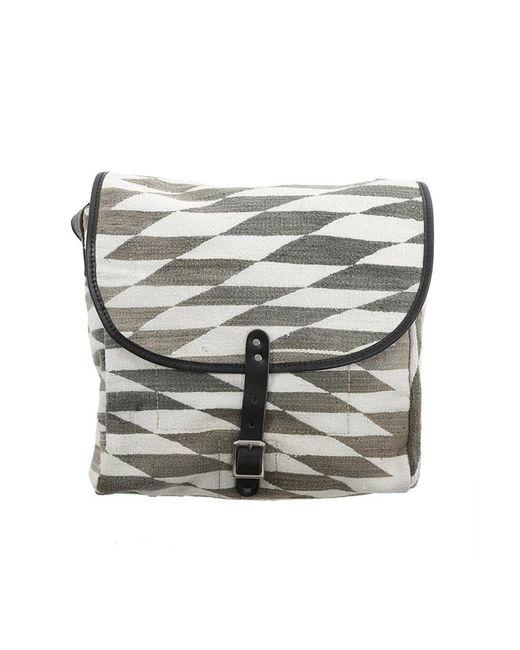 Will Leather Goods | Gray Dhurrie Messenger Bag | Lyst