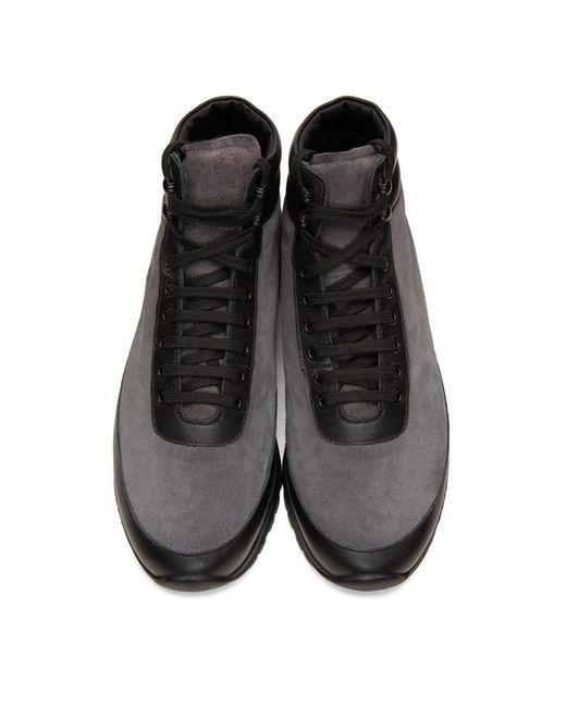 4bcd834d3c1341 ... Robert Geller - Black X Common Projects Trekking Shoe for Men - Lyst ...