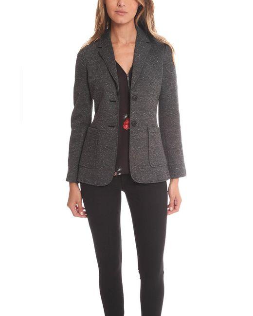 ATM - Gray Bonded Knit Sports Blazer - Lyst