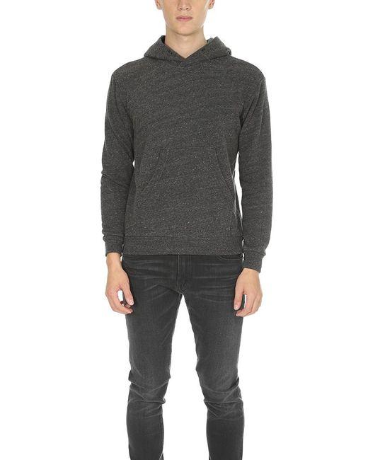 Velva Sheen - Black Pullover Hoody for Men - Lyst
