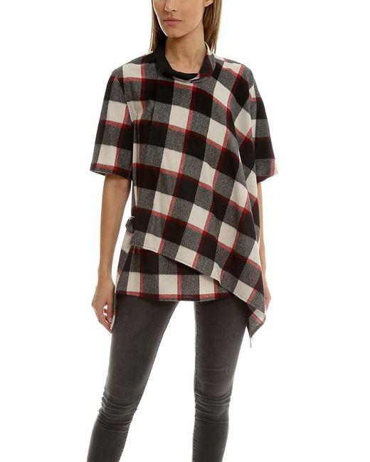 3.1 Phillip Lim - Multicolor Asymmetrical Shirt - Lyst