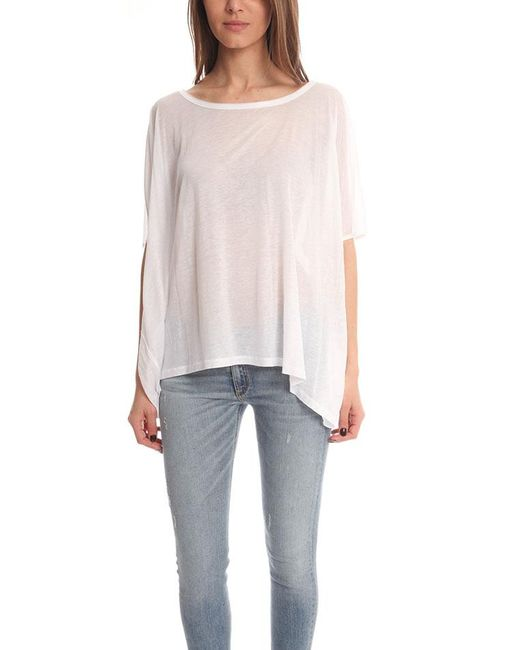 Acne | White Zorah T-shirt | Lyst