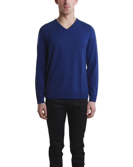Rag & Bone | Blue Abingdon V Neck for Men | Lyst