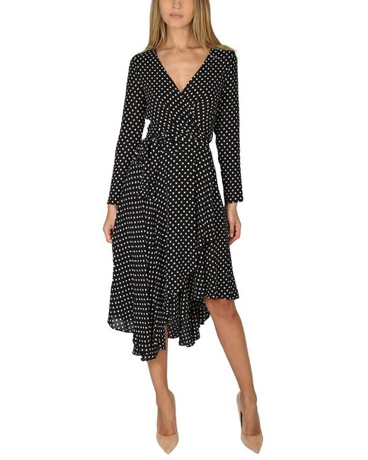 Zimmermann | Black Stranded Wrap Dress | Lyst