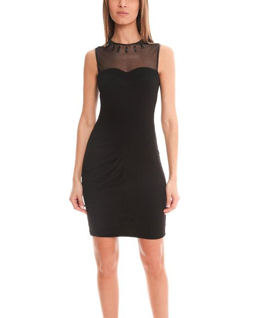 Yigal Azrouël - Black Crepe Jersey Dress - Lyst