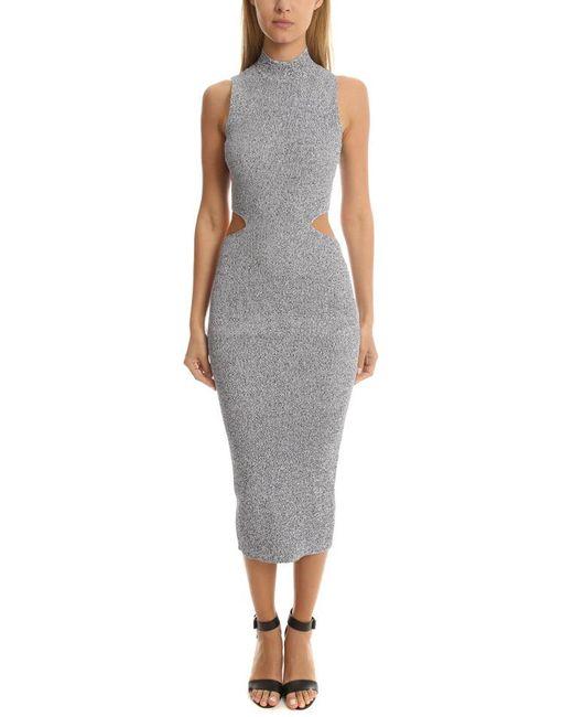 Suno - Blue Melange Dress - Lyst