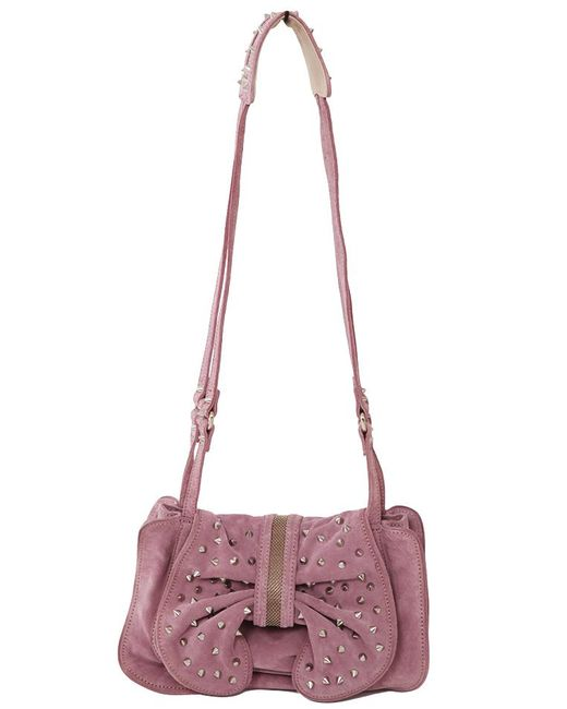 3.1 Phillip Lim - Purple Edie Studded Bow Bag - Lyst