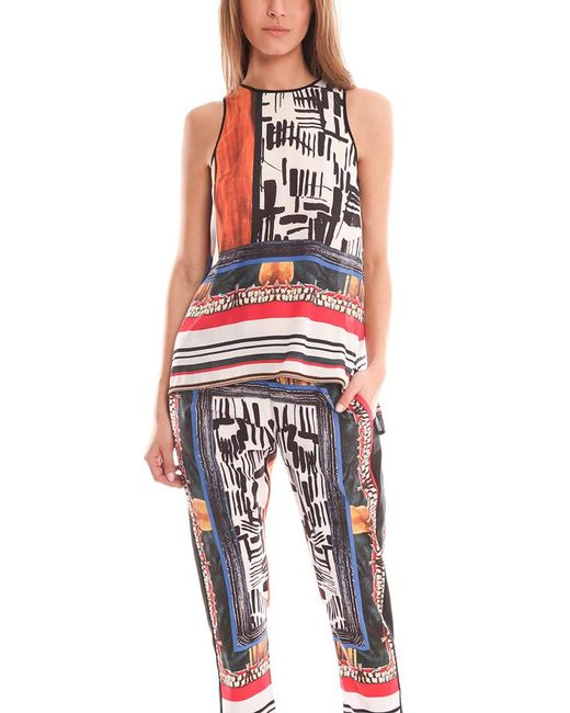 Clover Canyon | Multicolor Imperial Markings Top | Lyst