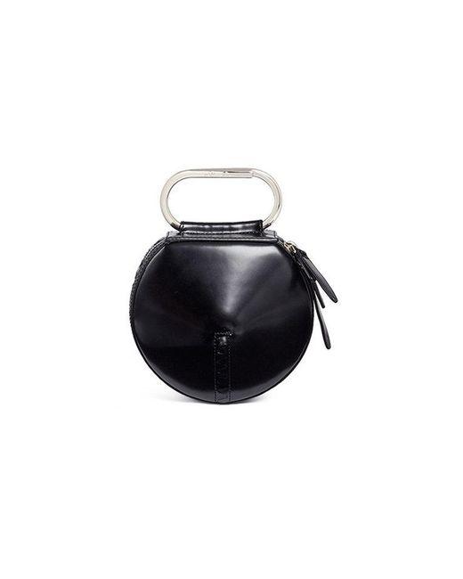 3.1 Phillip Lim - Black Alix Leather Circle Clutch - Lyst