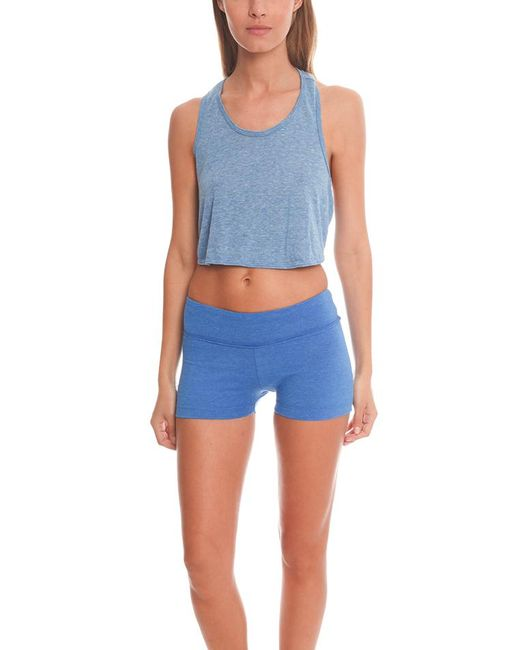 Alternative Apparel - Blue Keep Your Cool Top - - Lyst