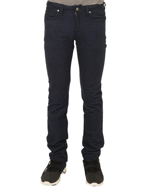 Naked & Famous | Blue Super Skinny Guy Flannel Denim for Men | Lyst