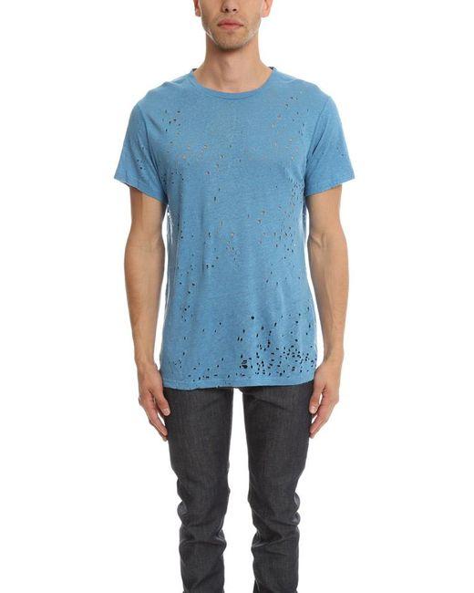 IRO - Blue Alessio T-shirt for Men - Lyst