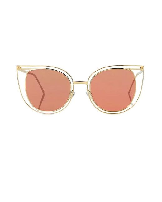 Thierry Lasry - Metallic Eventually - Rose Gold Mirror - Lyst