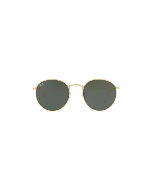 f3d350ef9e Ray-Ban - Multicolor Round Metal Sunglasses Rb3447n 001 50mm for Men - Lyst