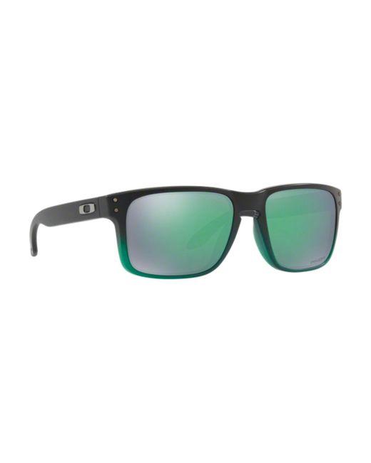 7acc245af0fe9 Oakley Holbrook Sunglasses Oo9102-e4 55mm in Green for Men - Lyst