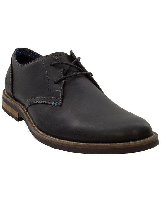 Original Penguin - Black Wade Leather Oxford for Men - Lyst