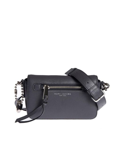 Marc By Marc Jacobs | Gray Women's Grey Leather Shoulder Bag | Lyst