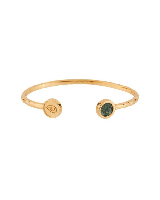 Les Nereides - Metallic Lucky Bracelet Stone And Eye - Lyst