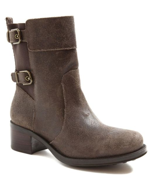 Andre Assous - Brown Laura Waterproof Leather Boot - Lyst