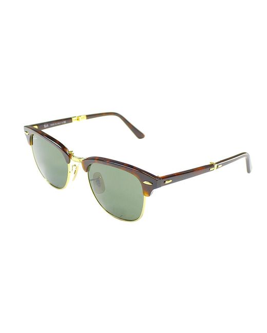 Ray-Ban - Multicolor Foldable Clubmaster Plastic Sunglasses - Lyst