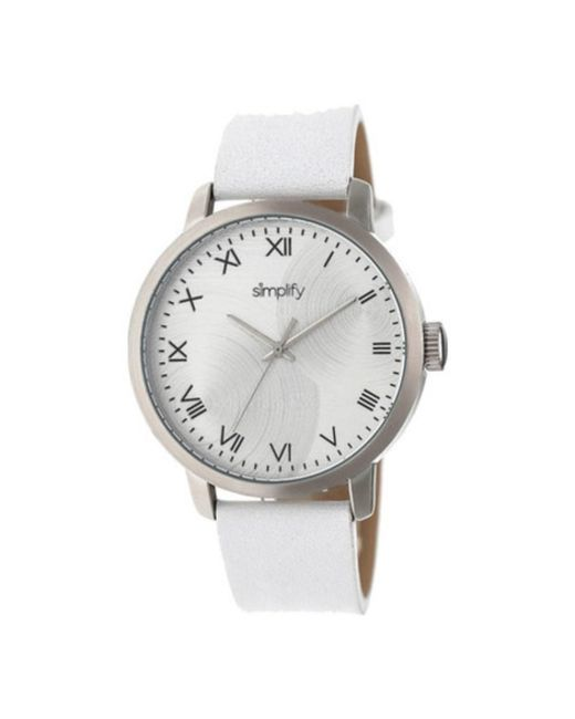 Simplify - White Men's The 4200 Quartz Watch for Men - Lyst