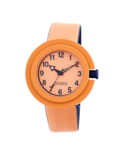 Crayo - Orange Men's Equinox Quartz Watch for Men - Lyst