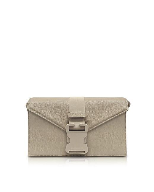 Christopher Kane - Brown Women's Beige Leather Shoulder Bag - Lyst
