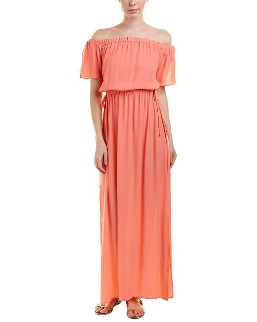 1.STATE - Pink 1.state Maxi Dress - Lyst