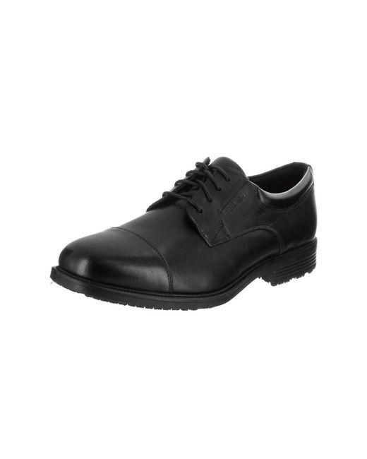 Rockport - Black Men's Essential Details Wp Cap Toe Casual Shoe for Men - Lyst