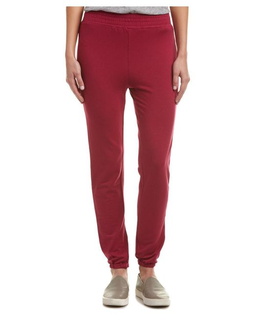C&C California | Red C&c California Kylie Slim Sweatpant | Lyst