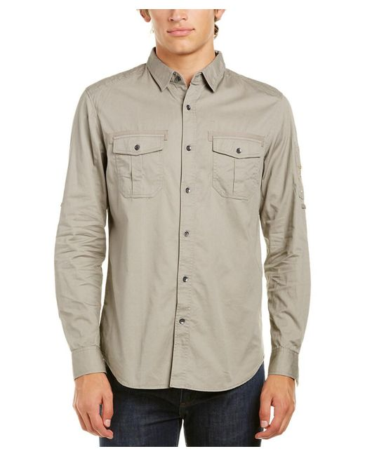Sovereign Code - Gray Sentry Shirt for Men - Lyst
