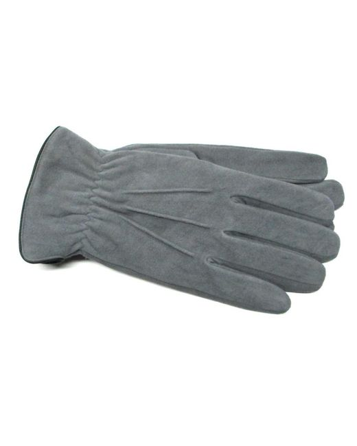 Gloves International - Gray Men's Suede Leather Gloves for Men - Lyst