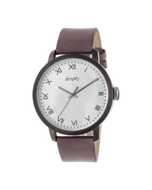 Simplify - Metallic Men's The 4200 Quartz Watch for Men - Lyst