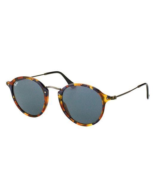 Ray-Ban - Blue Round Plastic Sunglasses - Lyst