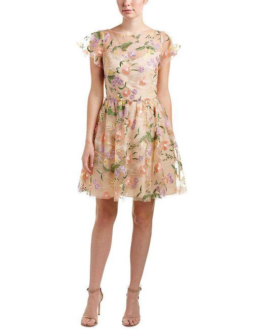 Shoshanna - Natural Alize Dress - Lyst