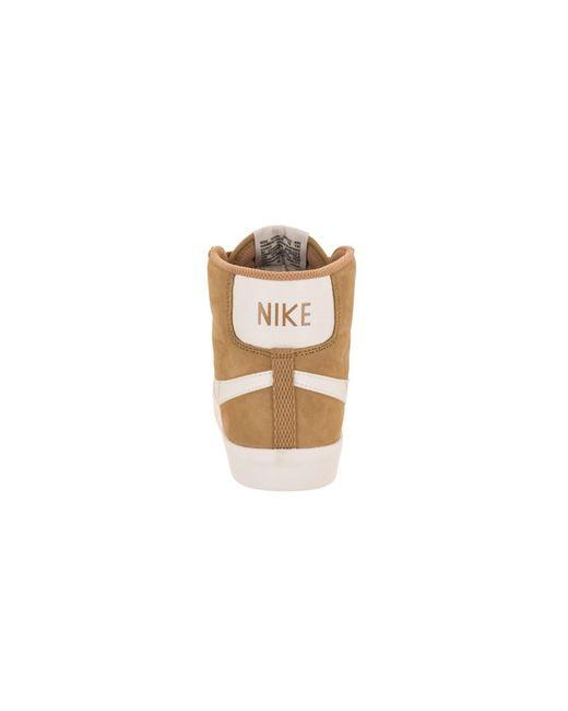 f3d073dfa05b27 ... Lyst Nike - Metallic Women s Blazer Mid Vntg Suede Casual Shoe ...