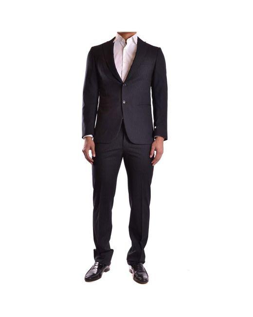 Burberry   Men's Mcbi056048o Black Wool Suit for Men   Lyst