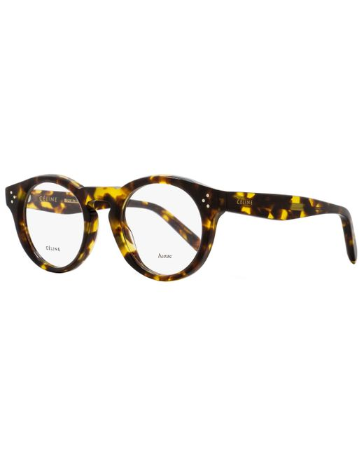 e4a12bb0470 Céline - Multicolor Oval Eyeglasses Cl41381 E88 Size  47mm Blonde Tortoise  41381 for Men ...