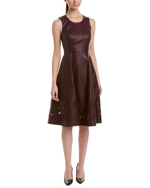 Catherine Malandrino - Red A-line Dress - Lyst