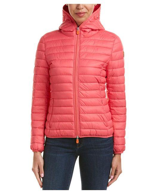 Save The Duck - Pink Lightweight Jacket - Lyst