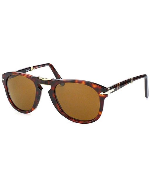 Persol - Multicolor Steve Mcqueen Round Plastic Sunglasses - Lyst